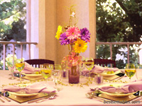 Lovely Lavender Table Decor
