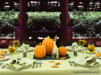 Witch Pumpkin Table Decor